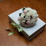 carnation and pink rose wedding