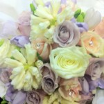 freesias hyacinths and roses