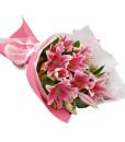 oriental-lily-bouquet
