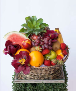 fresh-fruit-flower-hamper-the-lush-lily-brisbane-florist-flower-delivery