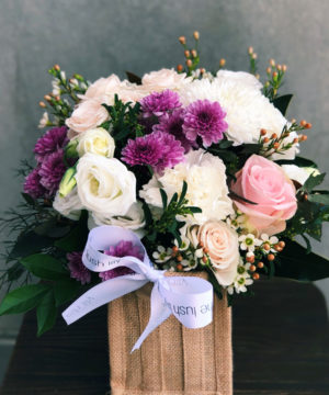 macey-flower-arrangement-brisabne-flower-delivery-lush-lily